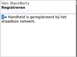 BlackBerry 9780 Bold - Instellingen - ontvangen via SMS - Stap 11