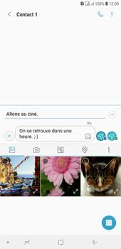 Samsung Galaxy J4+ - Contact, Appels, SMS/MMS - Envoyer un MMS - Étape 15