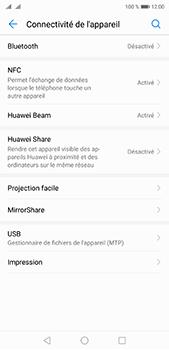 Huawei P20 pro - Internet et connexion - Connexion avec un équipement multimédia via Bluetooth - Étape 5