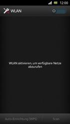 Sony Xperia U - WiFi - WiFi-Konfiguration - Schritt 5