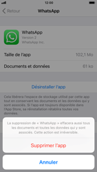 Apple iPhone 6s iOS 11 - Applications - Comment désinstaller une application - Étape 7