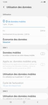 Samsung Galaxy A50 - Internet et connexion - Désactiver la connexion Internet - Étape 7