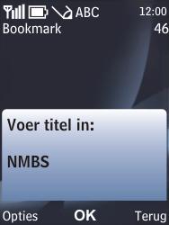 Nokia 6700 classic - Internet - internetten - Stap 10