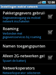 Samsung S5570 Galaxy Mini - Internet - aan- of uitzetten - Stap 6