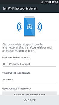 HTC U11 (2PZC100) - WiFi - Mobiele hotspot instellen - Stap 7