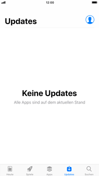 Apple iPhone 6s Plus iOS 11 - Apps - Nach App-Updates suchen - Schritt 4