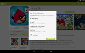 Sony Xperia Tablet Z2 LTE - Apps - Herunterladen - Schritt 18