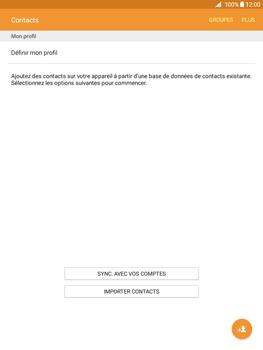 Samsung Galaxy Tab A - Contact, Appels, SMS/MMS - Ajouter un contact - Étape 4