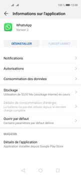 Huawei Nova 5T - Applications - Supprimer une application - Étape 6