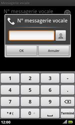 Acer Liquid S100 - Messagerie vocale - configuration manuelle - Étape 7