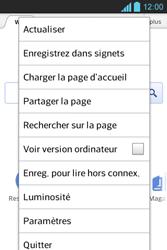 LG E610 Optimus L5 - Internet - Navigation sur Internet - Étape 5