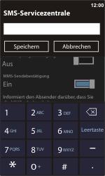 Nokia Lumia 610 - SMS - Manuelle Konfiguration - Schritt 6