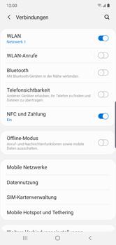 Samsung Galaxy Note 10 Plus 5G - WiFi - WiFi Calling aktivieren - Schritt 6