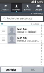LG F70 - Contact, Appels, SMS/MMS - Envoyer un SMS - Étape 6