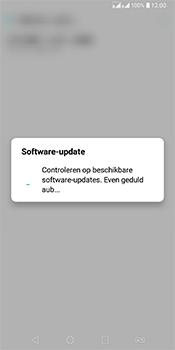 LG Q7 - Software updaten - Update installeren - Stap 7
