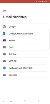 Samsung Galaxy Note9 - E-Mail - Konto einrichten (gmail) - Schritt 8