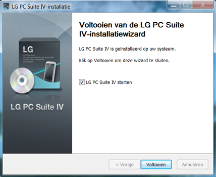 LG E975 Optimus G - Software - Download en installeer PC synchronisatie software - Stap 8