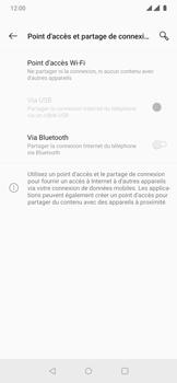 OnePlus 7 Pro - Internet et connexion - Partager votre connexion en Wi-Fi - Étape 6
