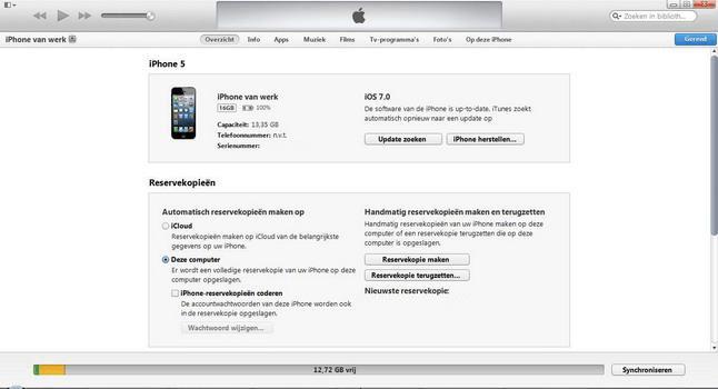 Apple iPhone 4 met iOS 7 - Software - PC-software installeren - Stap 9