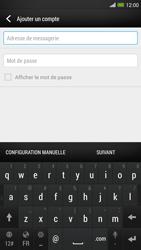 HTC One Max - E-mail - configuration manuelle - Étape 6