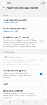 Samsung Galaxy A21s - Photos, vidéos, musique - Créer une vidéo - Étape 9