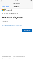 Apple iPhone 8 - iOS 13 - E-Mail - Konto einrichten (outlook) - Schritt 7