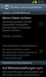 Samsung Galaxy S2 Plus - Fehlerbehebung - Handy zurücksetzen - 7 / 10
