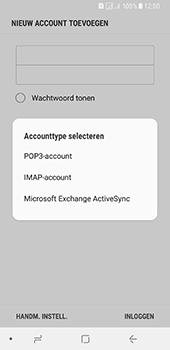 Samsung Galaxy A8 (2018) (SM-A530F) - E-mail - Account instellen (IMAP zonder SMTP-verificatie) - Stap 9