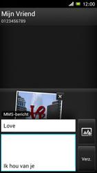 Sony ST26i Xperia J - MMS - afbeeldingen verzenden - Stap 14