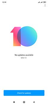 Xiaomi Mi Mix 3 5G - Software - Installing software updates - Step 6