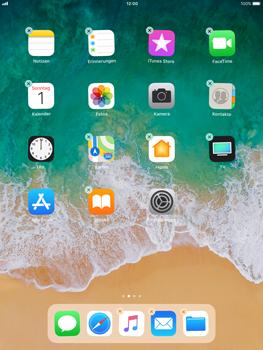 Apple iPad Air - iOS 11 - Mehrere App-Symbole gleichzeitig verschieben - 5 / 5