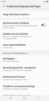 Samsung Galaxy J6 Plus - Beveiliging - pas de pincode voor je simkaart aan - Stap 6