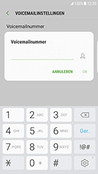 Samsung Galaxy S6 Edge - Android Nougat - voicemail - handmatig instellen - stap 8