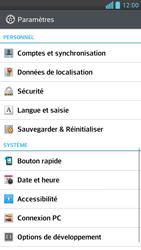 LG Optimus F6 - Sécuriser votre mobile - Personnaliser le code PIN de votre carte SIM - Étape 4