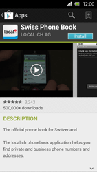 Sony Xperia U - Applications - Installing applications - Step 7