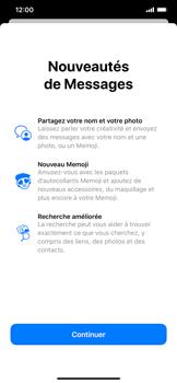 Apple iPhone 11 - Contact, Appels, SMS/MMS - Envoyer un SMS - Étape 3