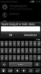 Nokia 808 PureView - Internet - handmatig instellen - Stap 13