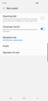 Samsung Galaxy S10 - Rete - Come attivare la connessione di rete 4G - Fase 6