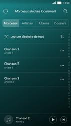Huawei Y5 - Photos, vidéos, musique - Ecouter de la musique - Étape 5