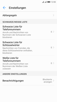 Huawei Mate 9 Pro - Anrufe - Anrufe blockieren - Schritt 6