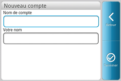 HTC A810e ChaCha - E-mail - Configuration manuelle - Étape 9