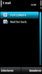 Nokia X6-00 - e-mail - handmatig instellen - stap 11