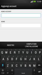 HTC One - E-mail - Configurazione manuale - Fase 15