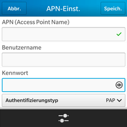 BlackBerry Q5 - Internet - Apn-Einstellungen - 10 / 22