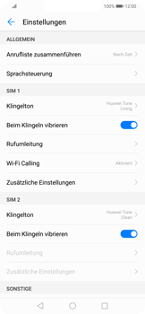 Huawei Mate 20 Lite - Anrufe - Rufumleitungen setzen und löschen - 5 / 9