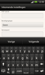 HTC C525u One SV - E-mail - handmatig instellen - Stap 10