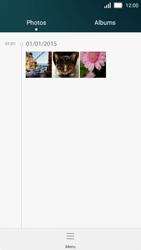 Huawei Y5 - Photos, vidéos, musique - Envoyer une photo via Bluetooth - Étape 4