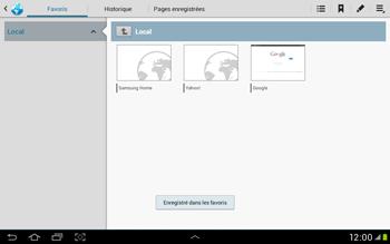 Samsung Galaxy Tab 2 10.1 - Internet et roaming de données - Navigation sur Internet - Étape 10