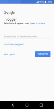 LG Q6 - apps - account instellen - stap 3