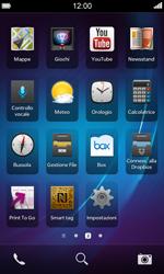 BlackBerry Z10 - WiFi - Configurazione WiFi - Fase 3